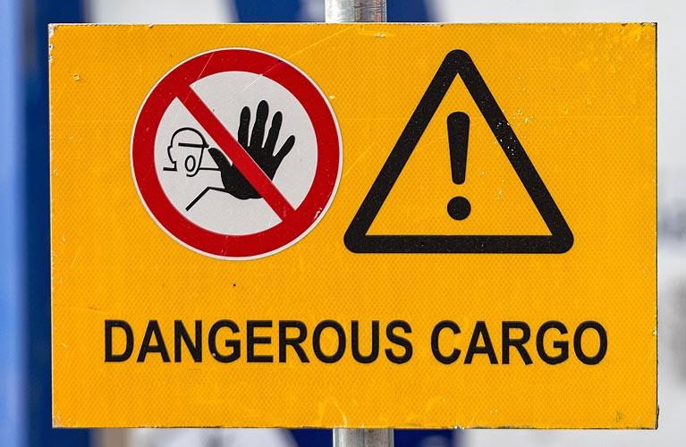 حمل و نقل کالای پر خطر